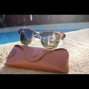 Original Clubmaster Raybans - Made in Italy